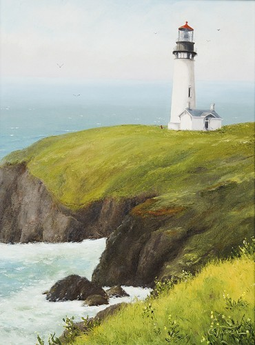 Old Yaquina Head Lighthouse